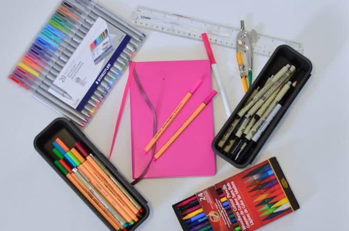 My Bullet Journal Supplies