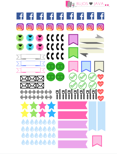 FREE Printable Planner Stickers - The Petite Planner
