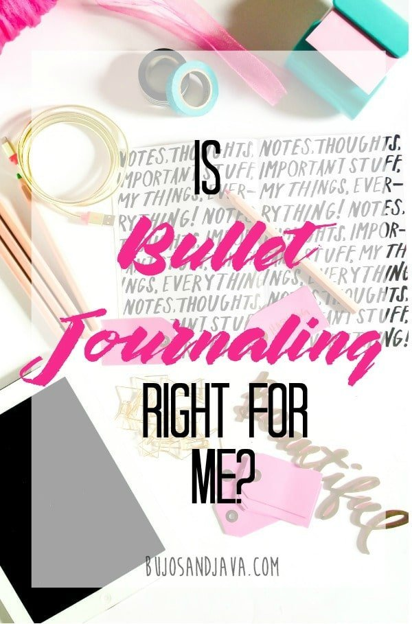 Don't let Instagram or Pinterest fool you into thinking you can't start a bullet journal. Bullet Journaling can work for everyone. You can use supplies you already have and spend as little or as much time on layouts as you want.