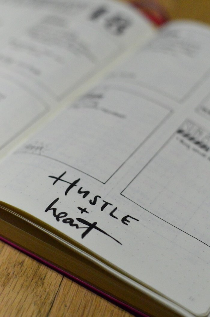 Bullet Journal Hack: Tracing Quotes