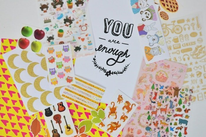 Stickers for your planner or bullet journal