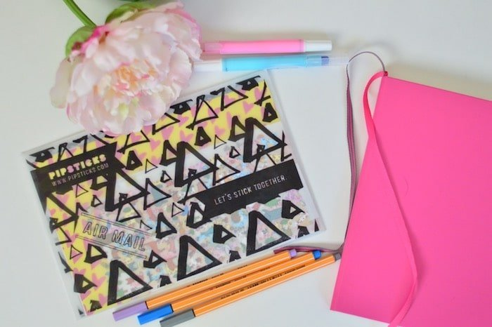 Pipsticks Subscription box for your bullet journal and planner
