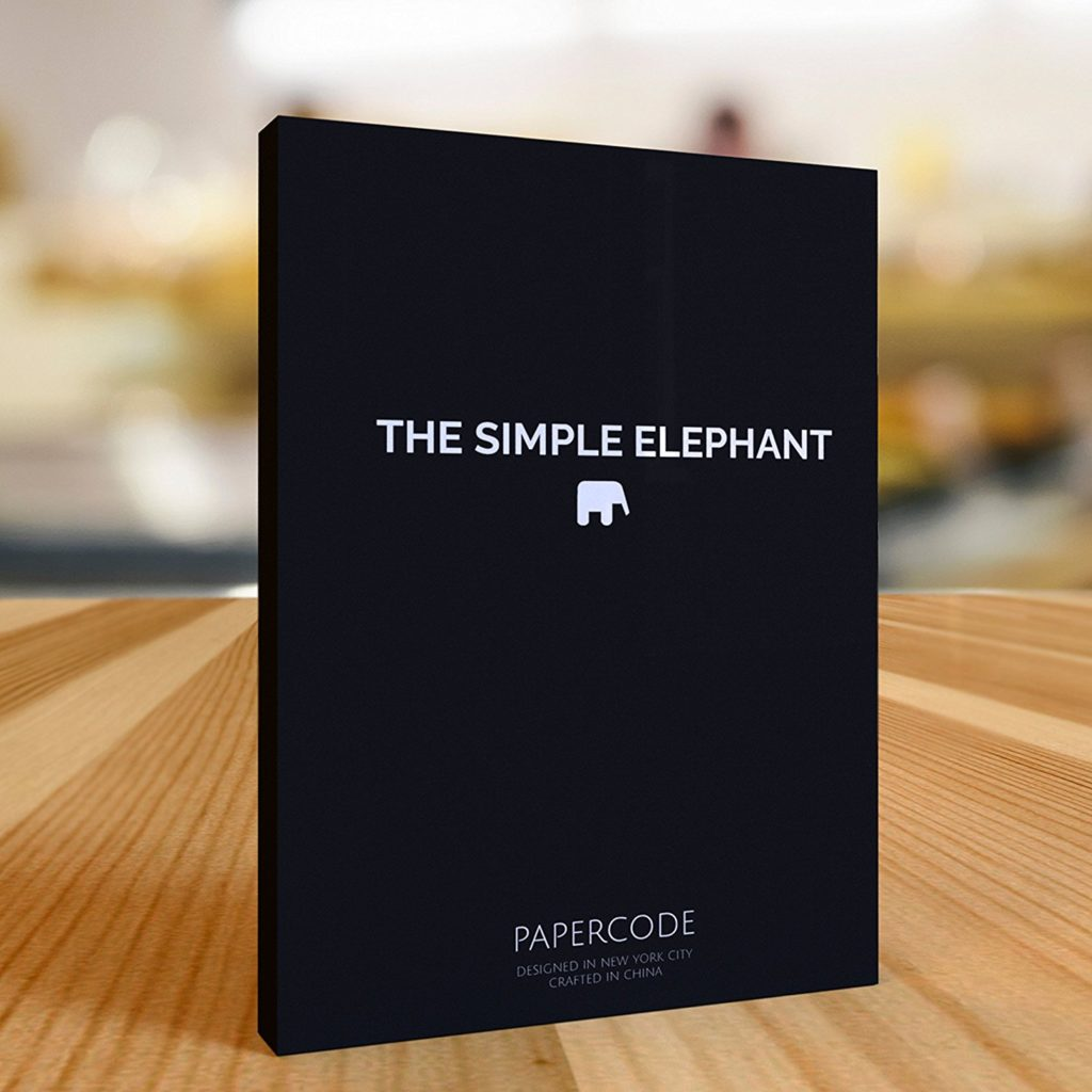 The Simple Elephant Undated Planner