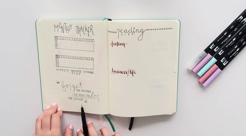 YouTube for Bullet Journals