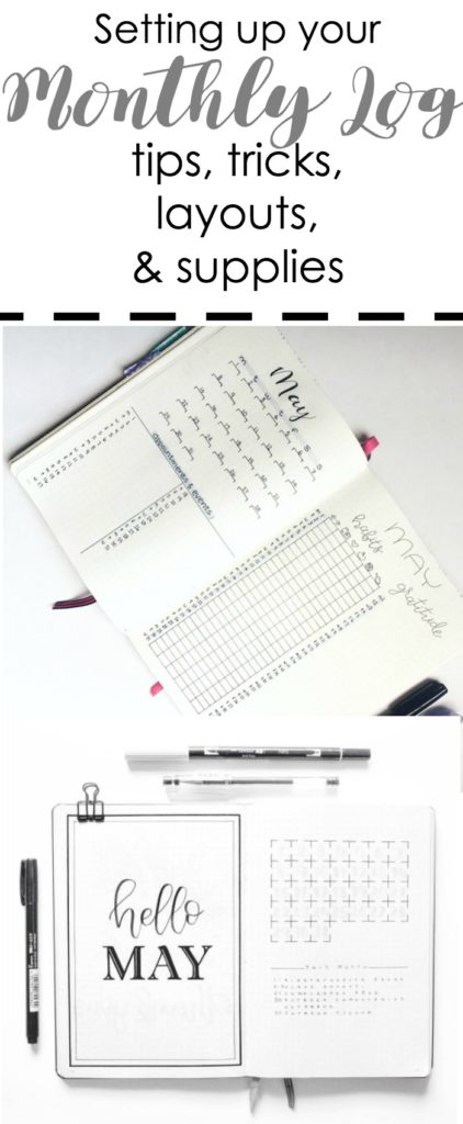 The monthly log can be an ultra efficient productivity tool in your bullet journal. These layouts will help you choose which one is right for you.