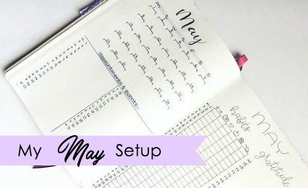 May Setup: I Tried to Go Minimalistic