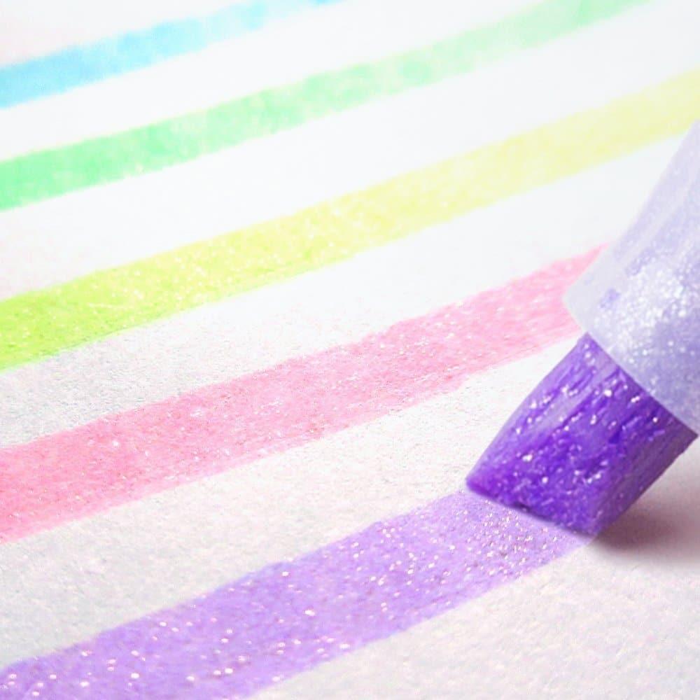 Glitter Highlighters for your bullet journal