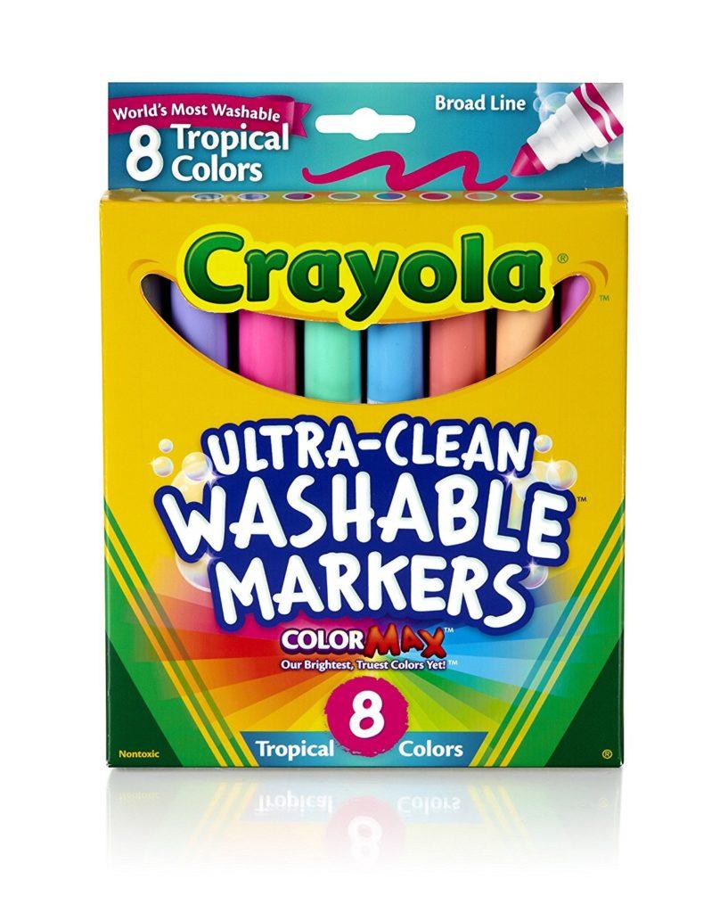 Pastel crayola markers