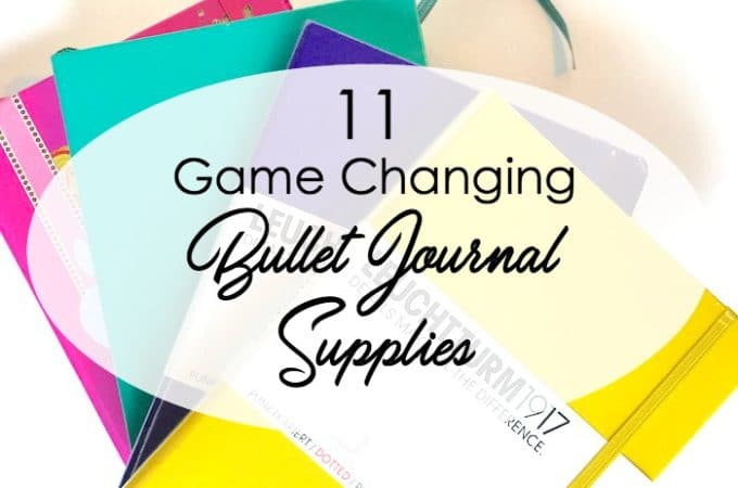 11 Game Changing Bullet Journal Supplies Under $10