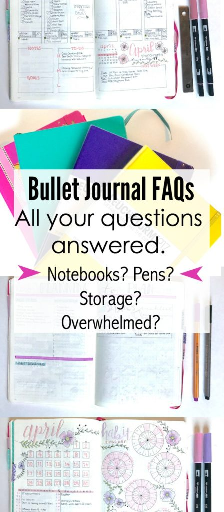 All Your bullet journal related questions answered
