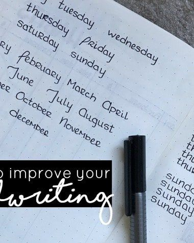 5 Steps to Improve Your Handwriting