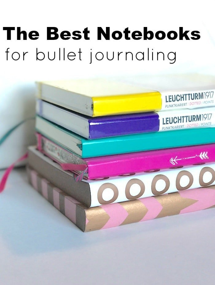 Choosing the right notebook for your bullet journal
