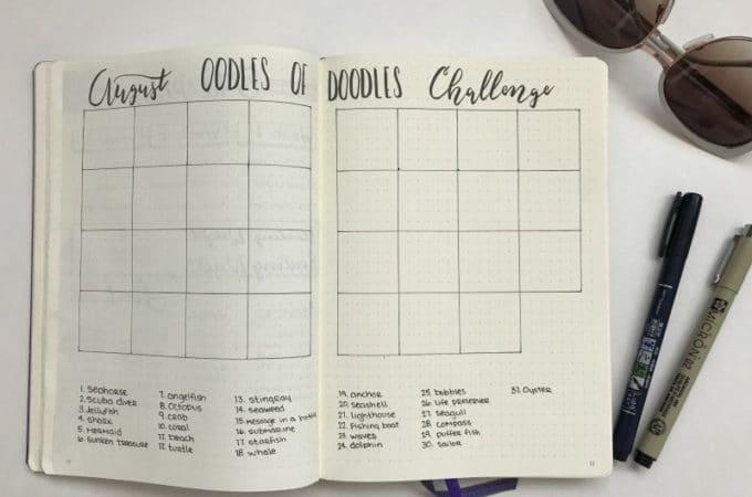 August Doodle Challenge