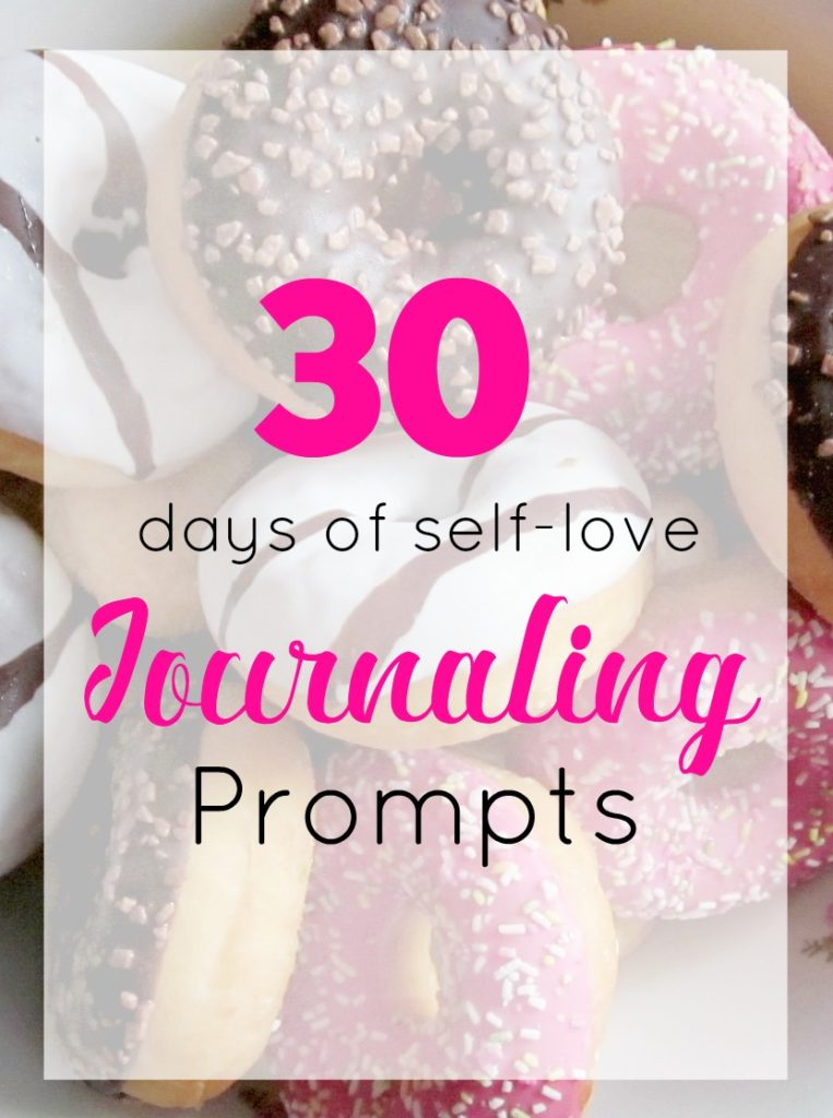 30 days of self-love journaling prompts