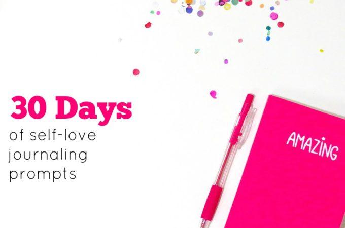 30 Days of Self-Love Through Journaling