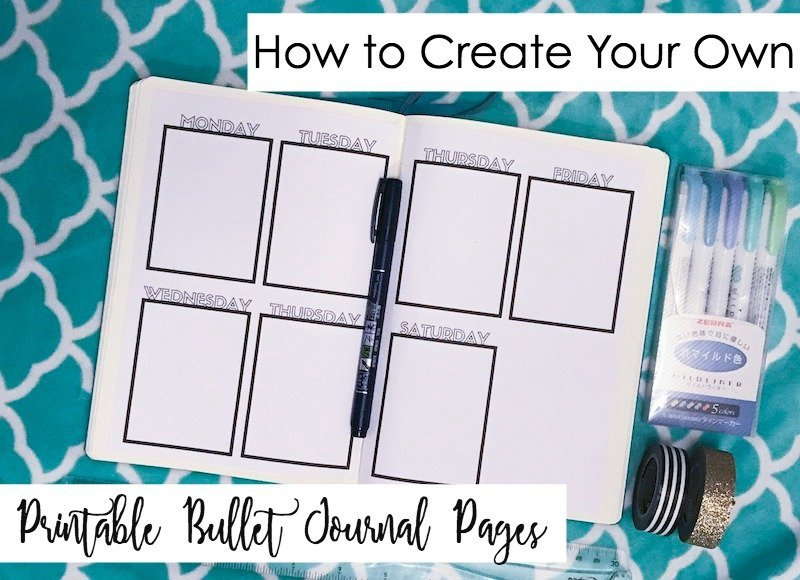graphic regarding How to Create a Printable named How in the direction of Deliver Your Private Printable Bullet Magazine Internet pages-No Excel