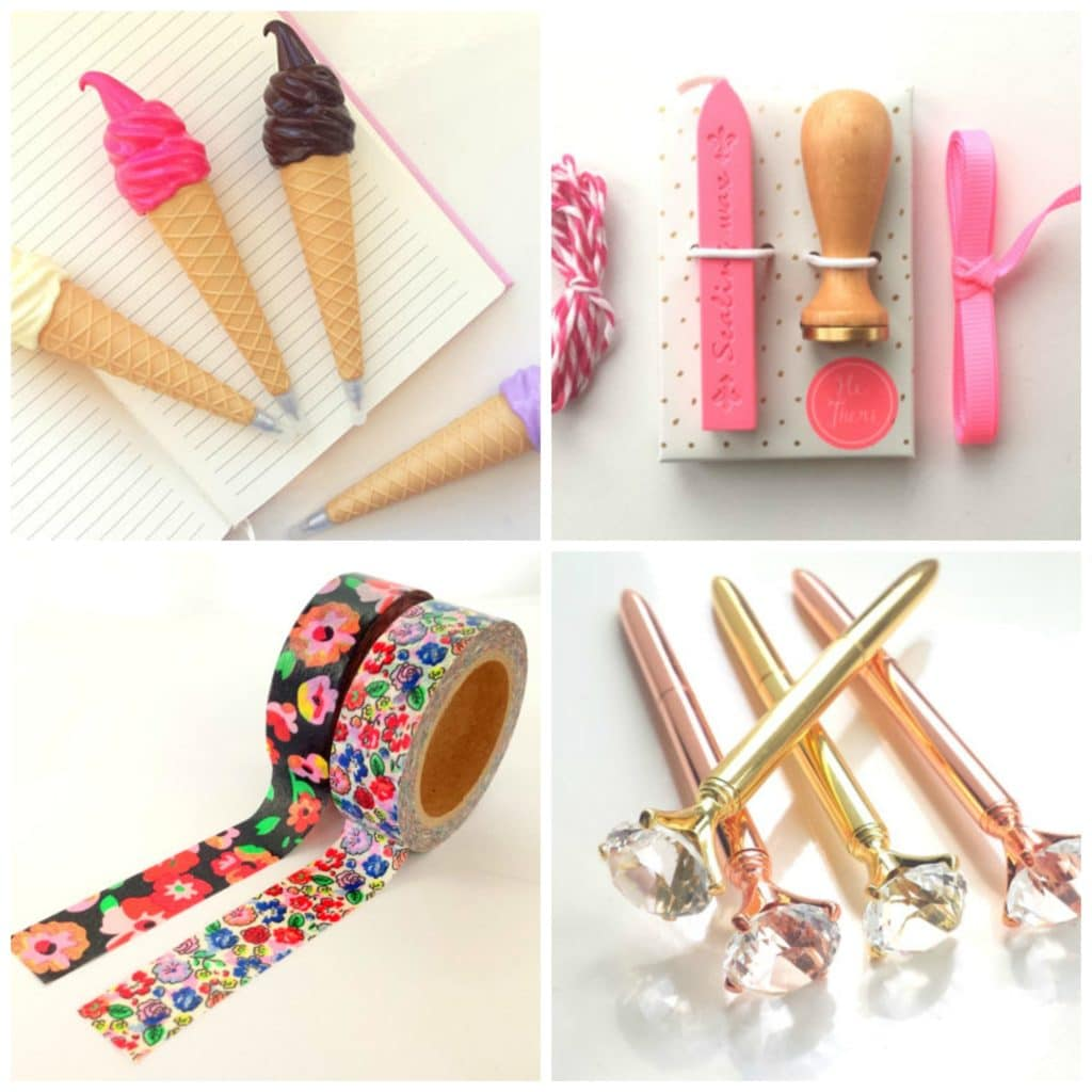 Girly Stationery Supplies you must have