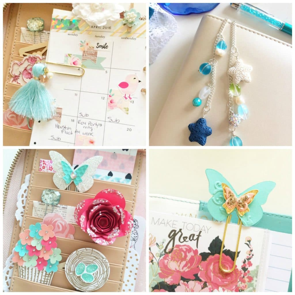 Girly planner accessories on Etsy