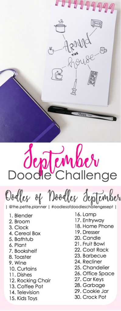Join the September Doodle Challenge on Instagram