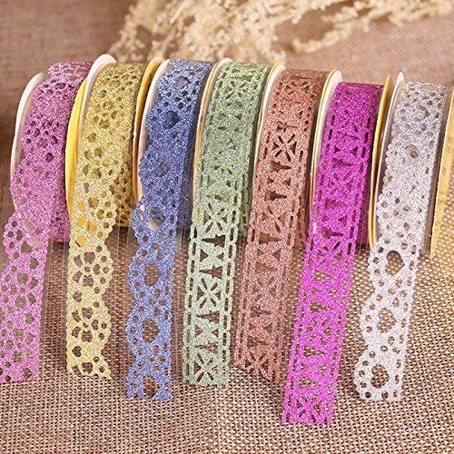 Glitter Lace Washi Tape