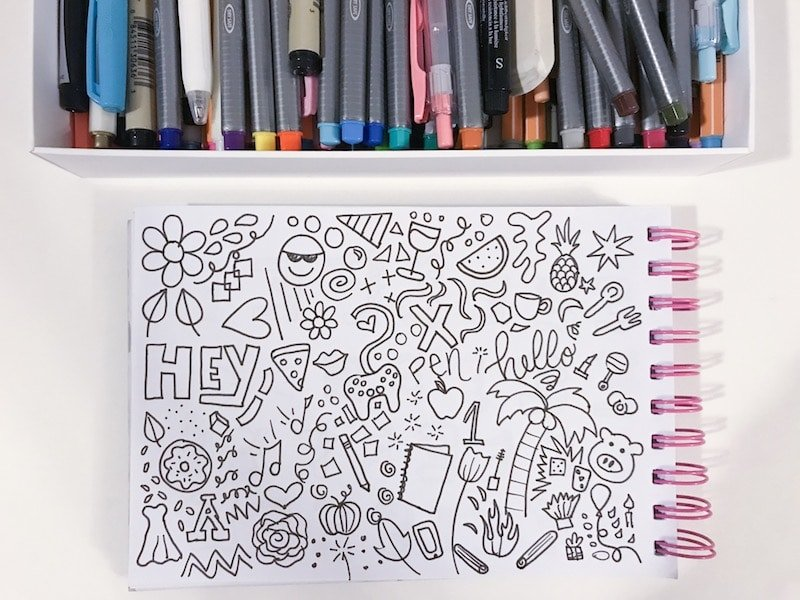 learn how to doodle in an hour less