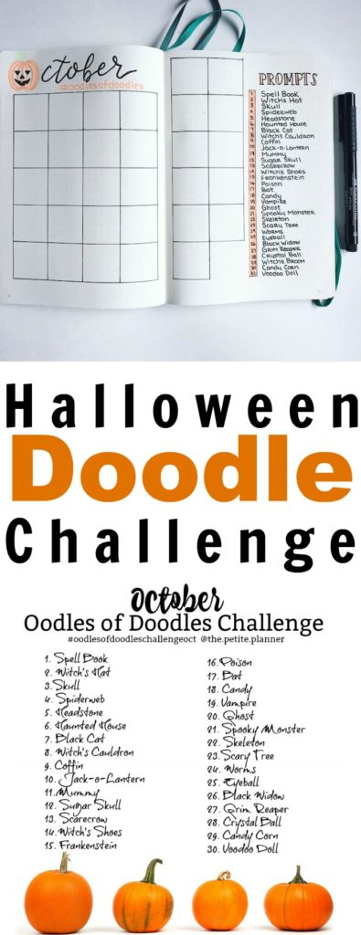 Join the Halloween Doodle Challenge this October