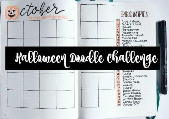 Halloween Doodle Challenge