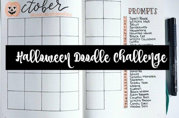 Halloween Doodle Challenge: October 2017