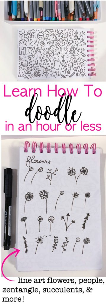 Learn how to doodle in an hour or less