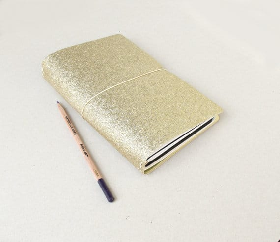 Travelers Notebook Gold Cover