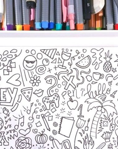 Learn how to doodle in less than an hour tutorial