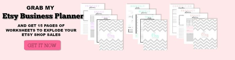 Use this Etsy Business Planner to start getting more Orders on Etsy