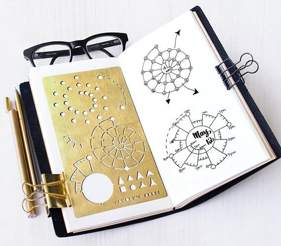Time tracking made easy in your 2018 bullet journal