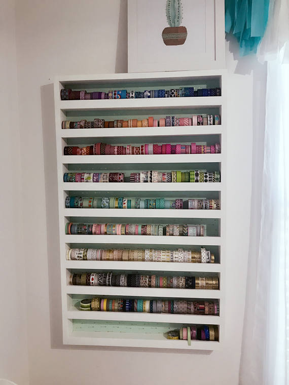 For the queen of washi tape, a perfect was to store and display your washi tape