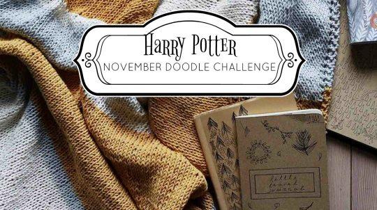 November Doodle Challenge: Harry Potter Edition