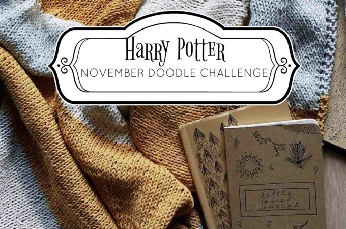 Harry Potter Doodle Challenge: November 2017
