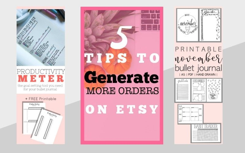Examples of Pinterest Graphics that generate traffic