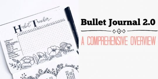 Everything you Need to Know about Bullet Journaling
