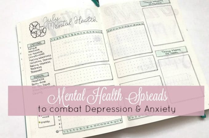 Bullet Journal Mental Health Spreads to Combat Depression and Anixety