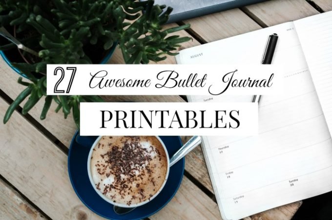 27 Useful Bullet Journal Printables You'll Want to Download Now