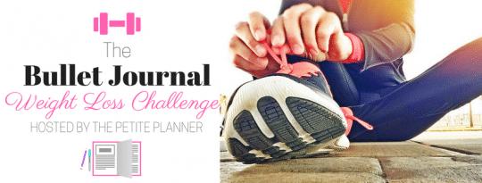 Bullet Journal Weight Loss Challenge