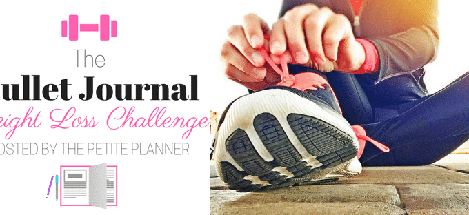 Bullet Journal Weight Loss Challenge