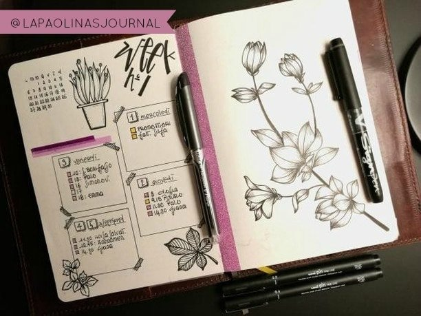 The Best Pens to use in your Bullet Journal