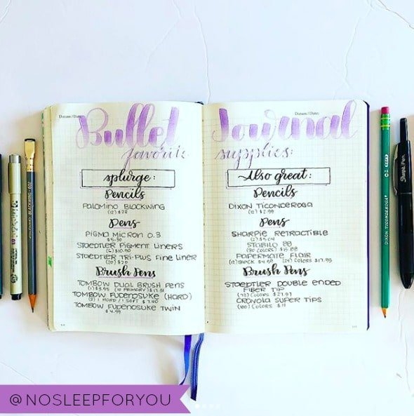 The Best Bullet Journal Advice