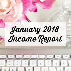 January 2018 Income Report