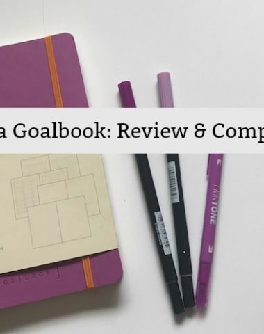Rhodia Goalbook Review