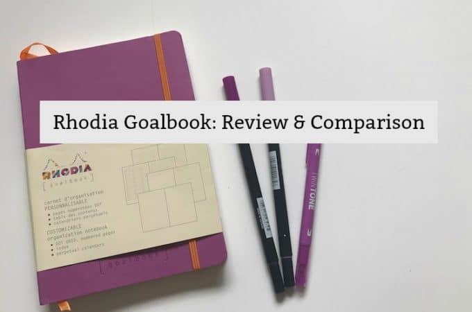 Rhodia Goalbook: Review and Comparison