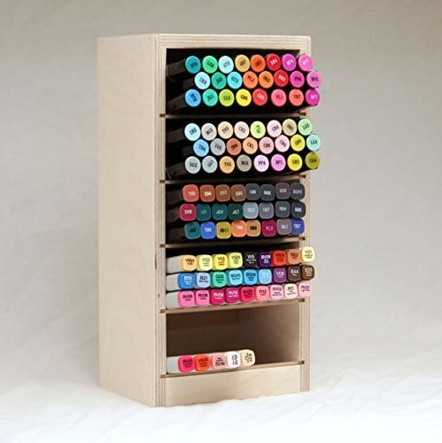 Marker and Pen Storage for Your Desk