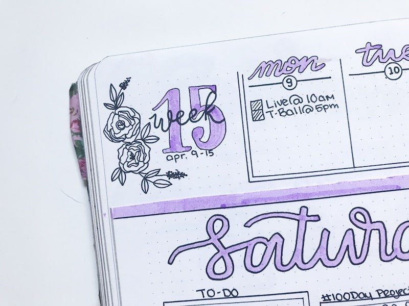 Unique Headers You'll Want to Try In Your Bullet Journal
