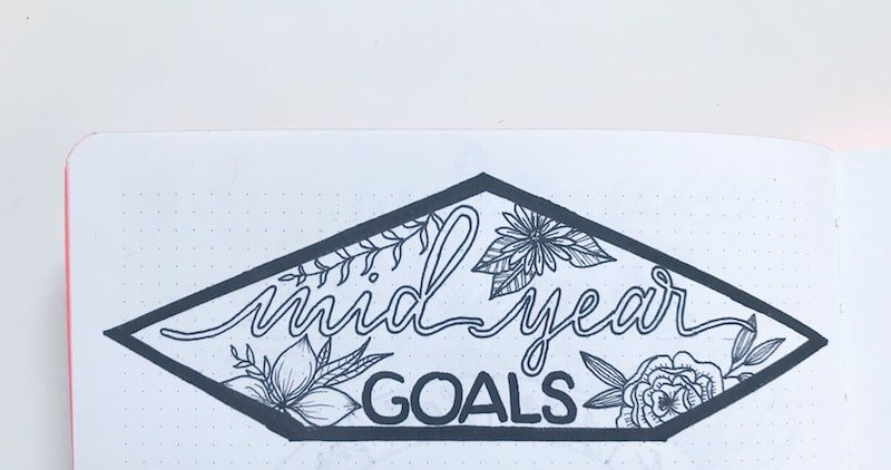 Unique Bullet Journal Headers You'll be Dying to Try